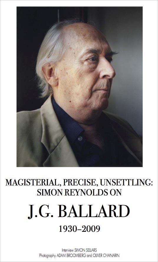 Ballardian: Simon Reynolds
