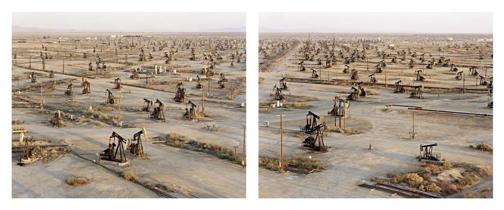 Burtynsky Oil Toronto Edward Burtynsky Oil Fields