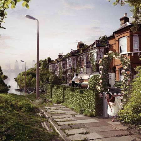 Ballardian: Flooded London