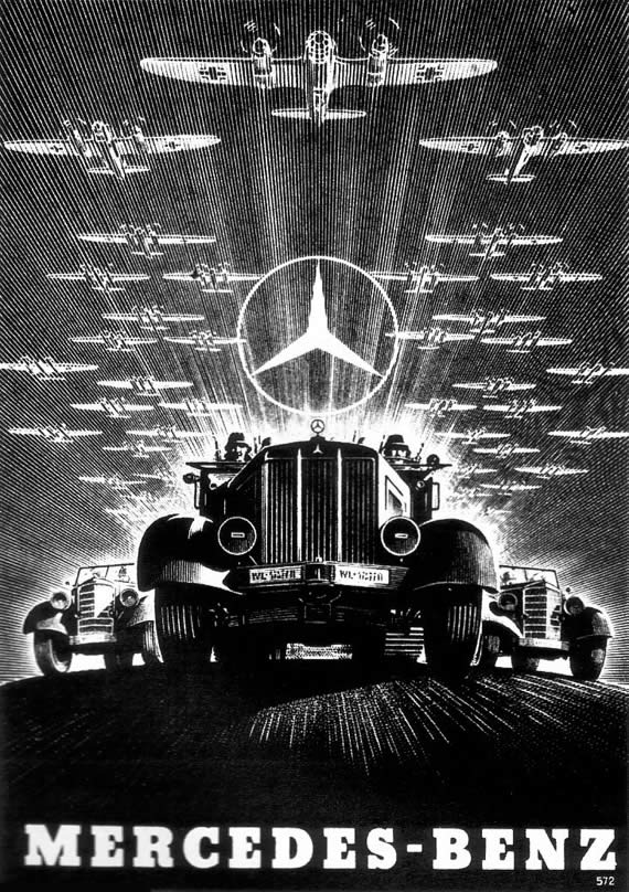 Ballardian a fascist state another look at kingdom come for Vintage mercedes benz posters