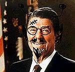Ballardian: Ronald Reagan