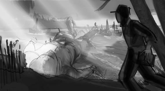 Ballardian: The Drowned Giant