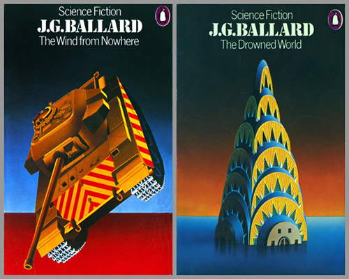 Ballardian: The Wind from Nowhere/The Drowned World