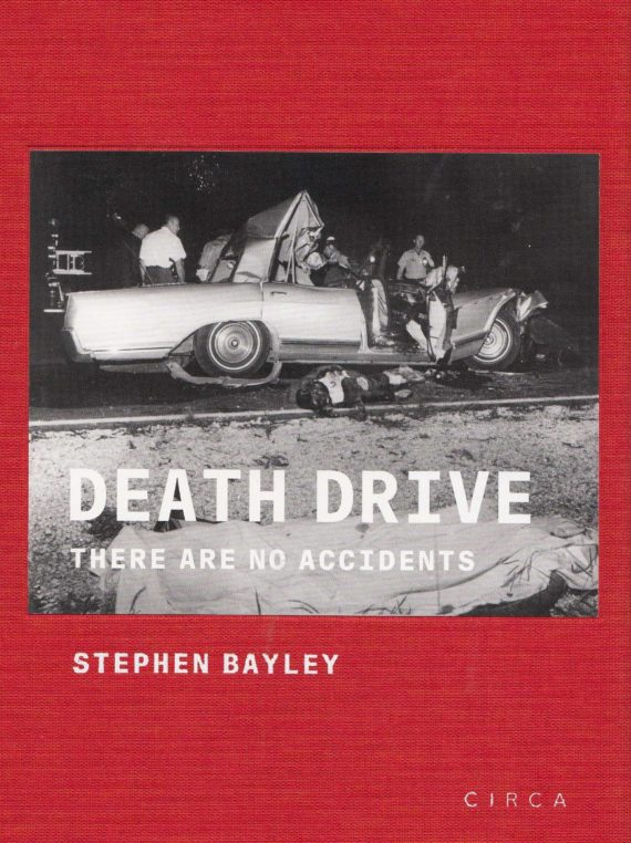 Jayne Mansfield's fatal crash, featured on the cover of Stephen Bayley's 'Death Drive'