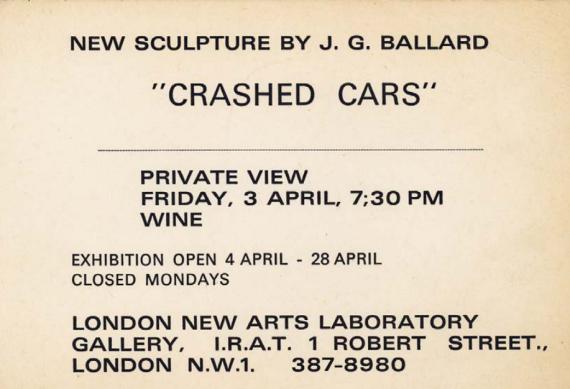 crashed cars invite